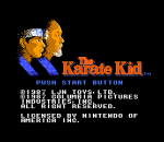 Karate Kid, The title screenshot
