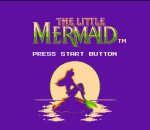 Little Mermaid, The title screenshot