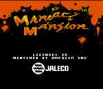 Maniac Mansion title screenshot