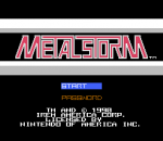 Metal Storm title screenshot
