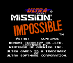 Mission Impossible title screenshot