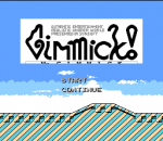 Mr. Gimmick title screenshot