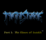 Nightshade title screenshot