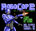 RoboCop 2 title screenshot