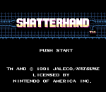 Shatterhand title screenshot