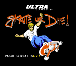 Skate or Die title screenshot