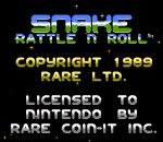 Snake Rattle n Roll title screenshot