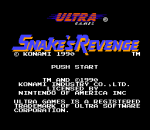 Snake's Revenge title screenshot