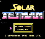 Solar Jetman - Hunt for the Golden Warpship title screenshot