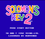 Solomon's Key 2 title screenshot