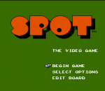 Spot - The Video Game title screenshot