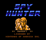 Spy Hunter title screenshot