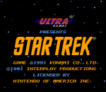 Star Trek - 25th Anniversary title screenshot