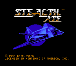 Stealth ATF title screenshot