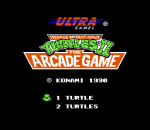 Teenage Mutant Ninja Turtles II - The Arcade Game title screenshot