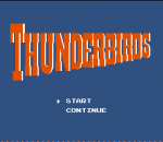 Thunderbirds title screenshot