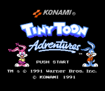 Tiny Toon Adventures title screenshot