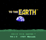 To the Earth title screenshot