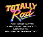 Totally Rad title screenshot