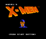 Uncanny X-Men, The title screenshot