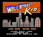 Wall Street Kid title screenshot