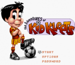 Adventures of Kid Kleets, The title screenshot