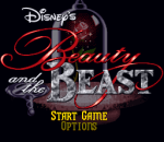 Beauty and the Beast title screenshot