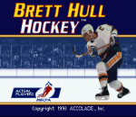 Brett Hull Hockey title screenshot