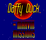 Daffy Duck - The Marvin Missions title screenshot