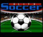 Elite Soccer title screenshot
