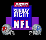 ESPN Sunday Night NFL title screenshot