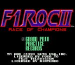 F1 ROC II - Race of Champions title screenshot
