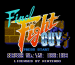 Final Fight Guy title screenshot