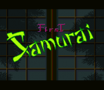 First Samurai title screenshot