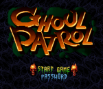 Ghoul Patrol title screenshot