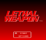 Lethal Weapon title screenshot