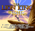 Lion King, The title screenshot