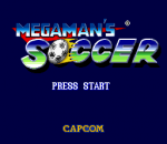 Mega Man Soccer title screenshot
