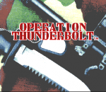 Operation Thunderbolt title screenshot
