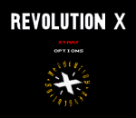 Revolution X title screenshot