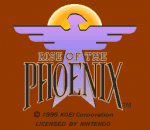 Rise of the Phoenix title screenshot