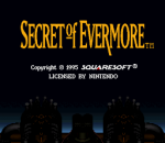 Secret of Evermore title screenshot
