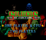 Soldiers of Fortune title screenshot