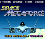 Space Megaforce title screenshot
