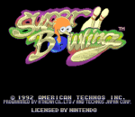 Super Bowling title screenshot
