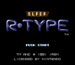 Super R-Type title screenshot