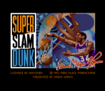 Super Slam Dunk title screenshot