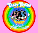 Tiny Toon Adventures - Wacky Sports Challenge title screenshot
