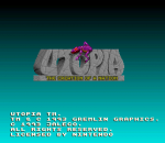 Utopia - The Creation of a Nation title screenshot