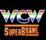 WCW Super Brawl Wrestling title screenshot
